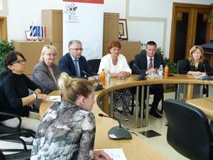 Brodsko-posavska županija : župan Marušić susreo se s ministricom rada dr.sc Nadom Šikić