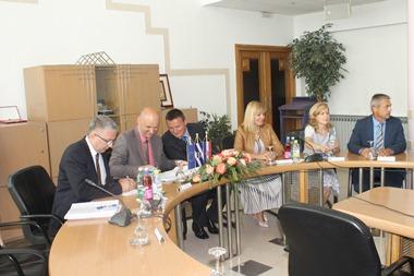 Brodsko-posavska županija : Ministrica Juretić i ministar Tolušić u Brodsko-posavskoj županiji